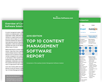 Top 10 Content Management Software Report