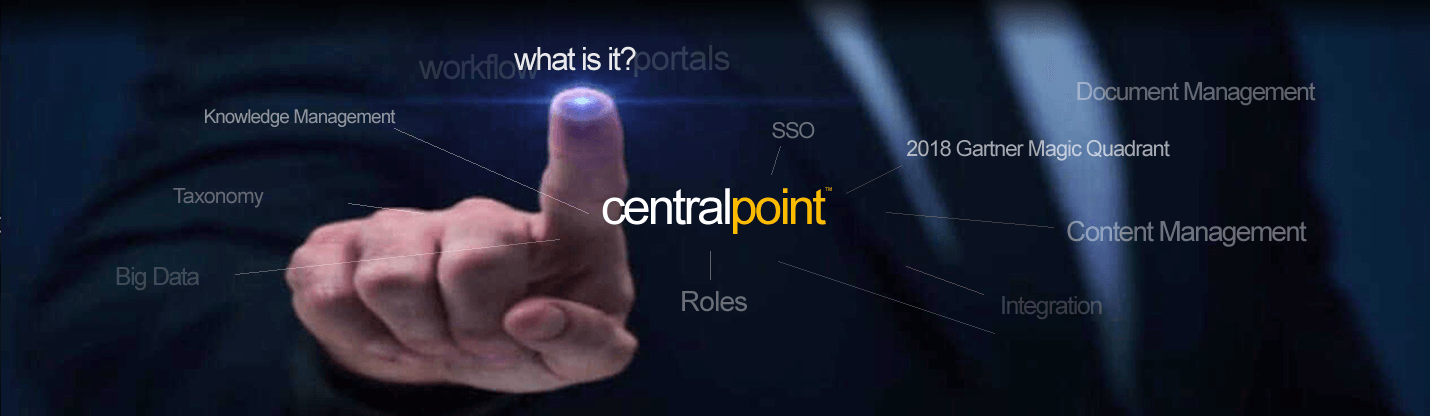 Centralpoint by Oxcyon in the 2018 Gartner Magic Quadrant for Digital Experience Platforms - Portal, Content Management, ECM, Metadata